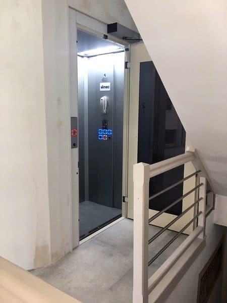 Installation d'un ascenseur privatif à St Didier en Mont d'or dans le Rhône 69