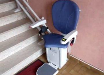 Installation d'un siège monte-escalier à Brignais dans le Rhône (69)