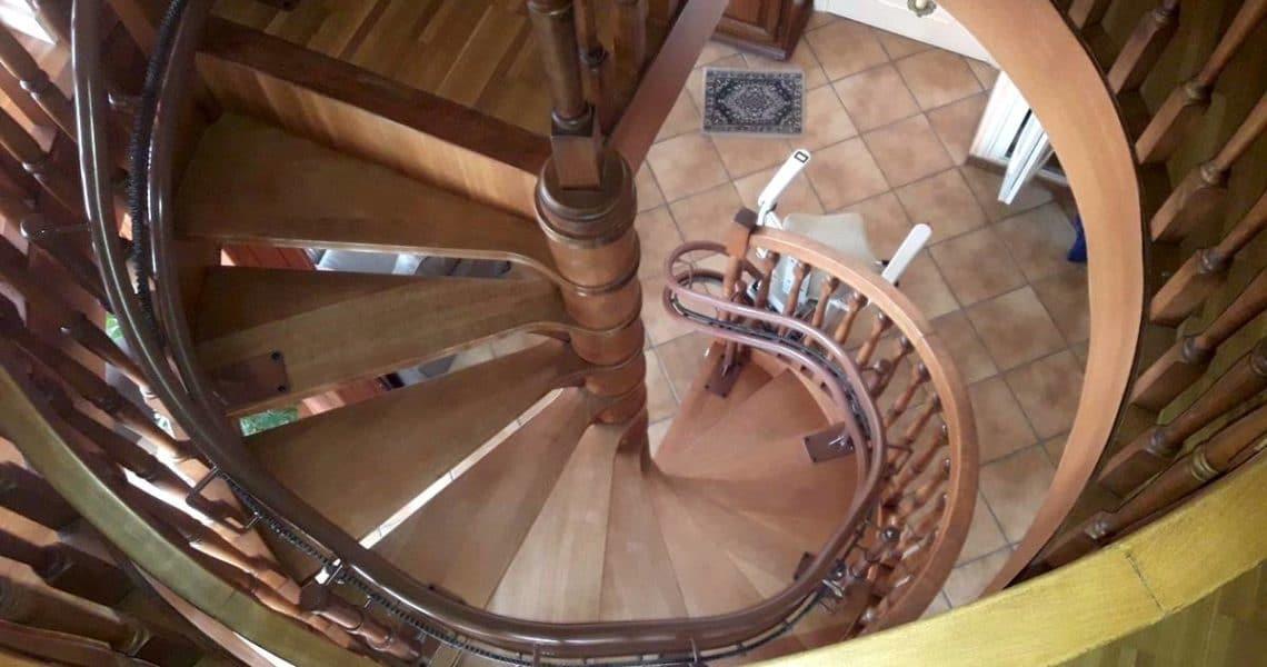 Installation d'un siège monte-escalier en Haute Loire 43